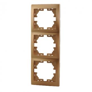 Рамка 3-ая вертикальная б/вст