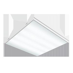 Светодиодный светильник 585х585х65 мм Грильято встраиваемый