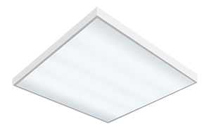 Светодиодный светильник 595х595х50 мм аварийный