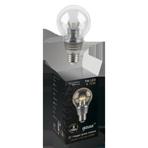 Светодиодная лампа gauss общего назначения 7W