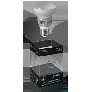 Светодиодная диммируемая зеркальная лампа gauss R63 5W