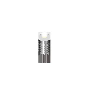 Светодиодная лампа gauss G4 1W