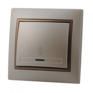 Выключатель проходной с подсветкой