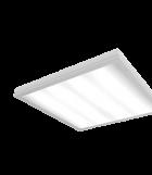 Светодиодный светильник 595х595х55 мм со степенью защиты IP54 аварийный